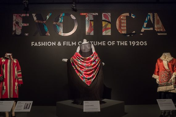 FIDM's Exotica 1920s Fashion Exhibit