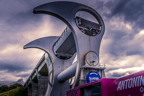 The Falkirk Wheel, A Scottish Innovation!