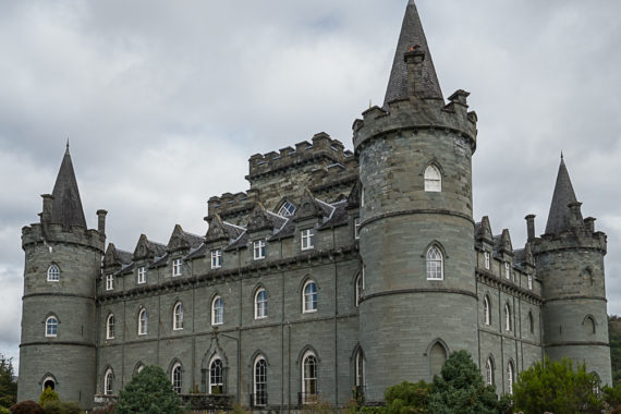 Inveraray Castle, Home to Clan Campbell