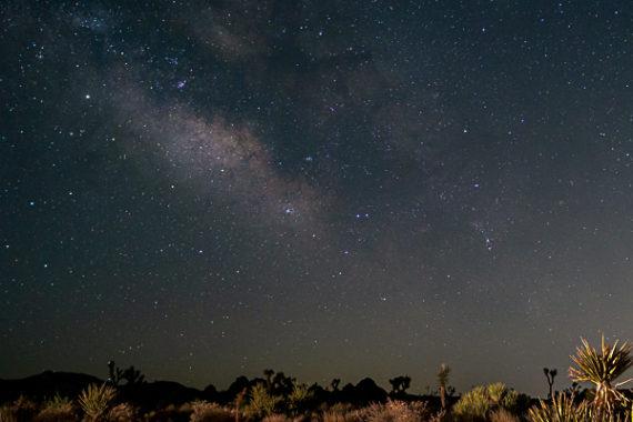 The Milky Way at Joshua Tree National Park