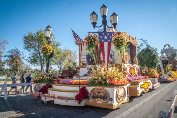 Pasadena Rose Parade Floats