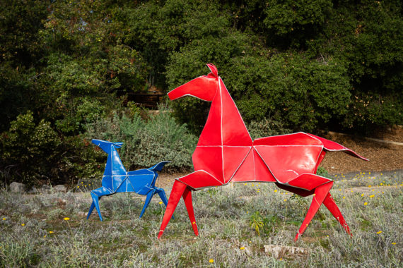Origami Sculpture – Claremont, CA
