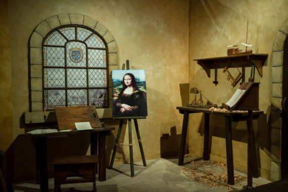 Leonardo da Vinci at the Reagan Library